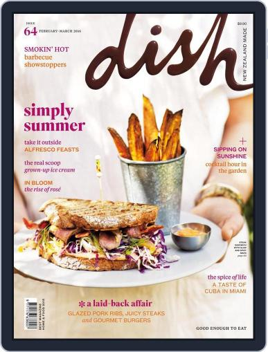Dish (Digital) January 1st, 2016 Issue Cover