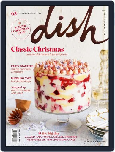 Dish (Digital) November 6th, 2015 Issue Cover