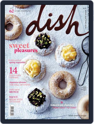 Dish (Digital) September 17th, 2015 Issue Cover