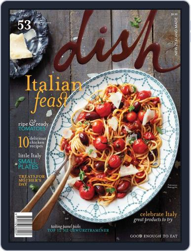 Dish (Digital) March 20th, 2014 Issue Cover