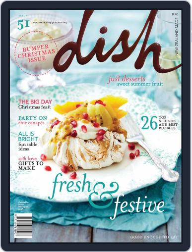 Dish (Digital) November 10th, 2013 Issue Cover