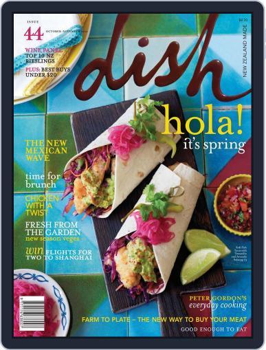 Dish (Digital) September 23rd, 2012 Issue Cover