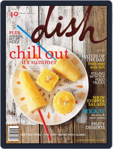 Dish (Digital) January 22nd, 2012 Issue Cover