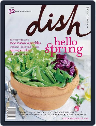 Dish (Digital) September 19th, 2010 Issue Cover