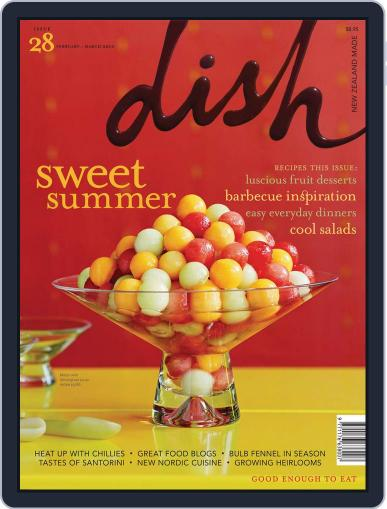 Dish (Digital) March 1st, 2010 Issue Cover