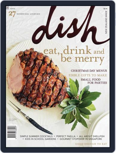 Dish (Digital) November 22nd, 2009 Issue Cover