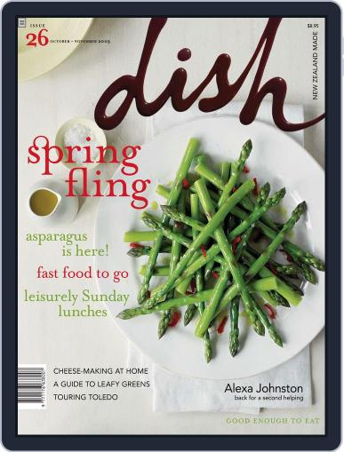 Dish (Digital) September 20th, 2009 Issue Cover