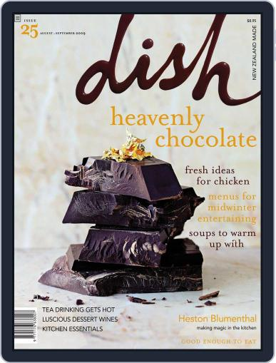 Dish (Digital) July 19th, 2009 Issue Cover