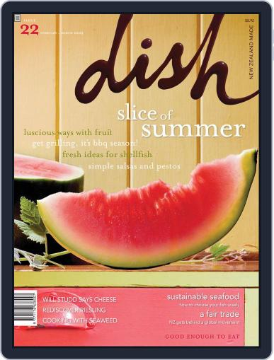 Dish (Digital) March 14th, 2009 Issue Cover
