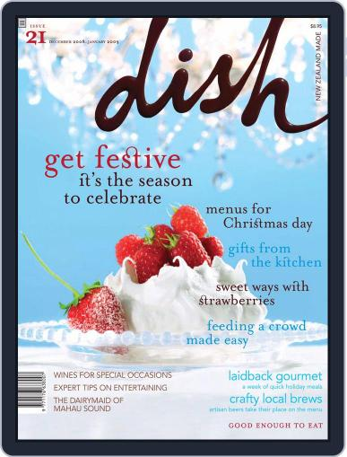 Dish (Digital) January 12th, 2009 Issue Cover