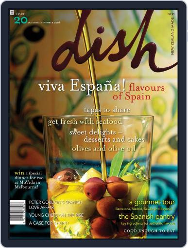 Dish (Digital) November 18th, 2008 Issue Cover