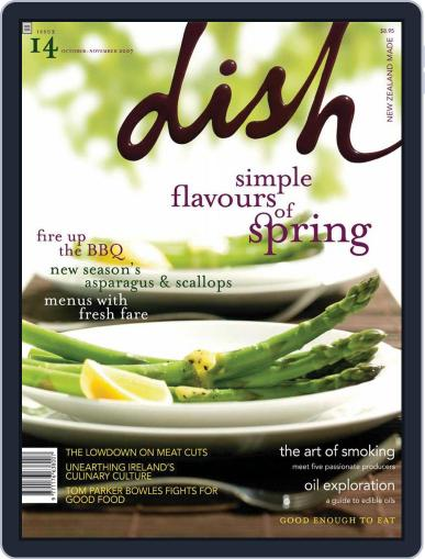 Dish (Digital) May 17th, 2008 Issue Cover