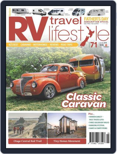 RV Travel Lifestyle July 2nd, 2018 Digital Back Issue Cover