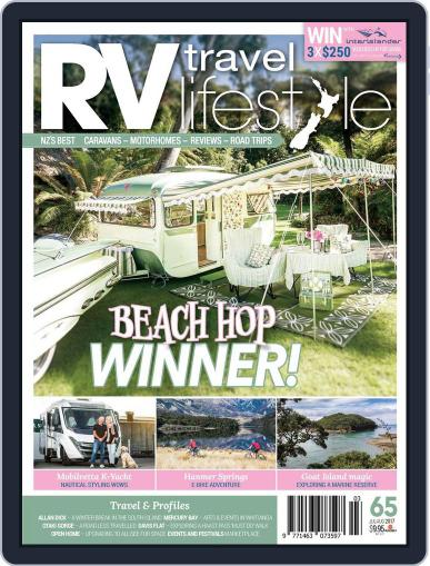 RV Travel Lifestyle (Digital) July 1st, 2017 Issue Cover
