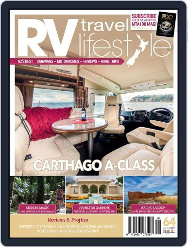 RV Travel Lifestyle (Digital) May 1st, 2017 Issue Cover