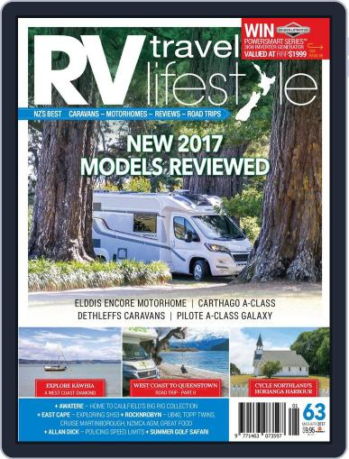 RV Travel Lifestyle (Digital) March 1st, 2017 Issue Cover