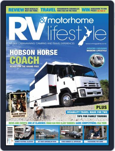 RV Travel Lifestyle (Digital) February 20th, 2012 Issue Cover