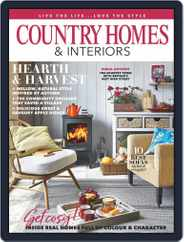 Country Homes & Interiors (Digital) Subscription October 1st, 2019 Issue