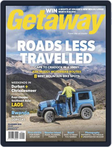 Getaway (Digital) November 1st, 2019 Issue Cover