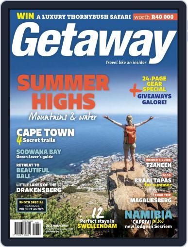 Getaway (Digital) December 1st, 2018 Issue Cover