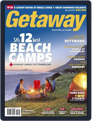 Getaway (Digital) November 1st, 2018 Issue Cover