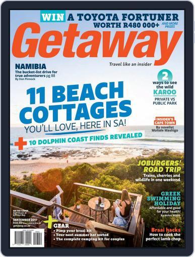 Getaway (Digital) September 1st, 2017 Issue Cover