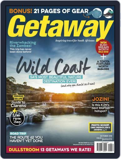 Getaway (Digital) October 1st, 2016 Issue Cover