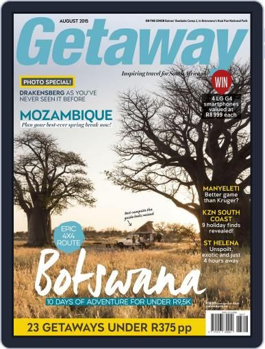 Getaway (Digital) August 1st, 2015 Issue Cover