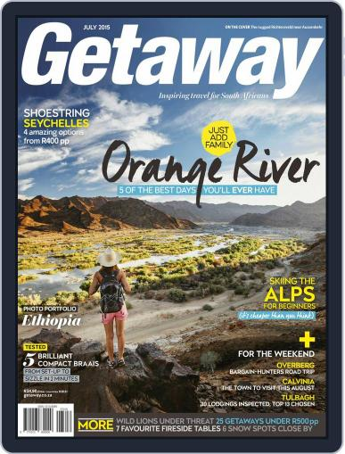 Getaway (Digital) July 1st, 2015 Issue Cover