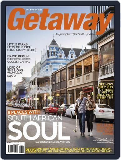 Getaway (Digital) November 16th, 2014 Issue Cover