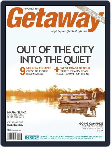 Getaway (Digital) October 19th, 2014 Issue Cover