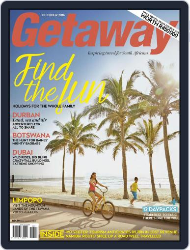 Getaway (Digital) September 21st, 2014 Issue Cover