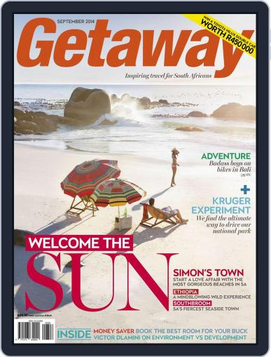 Getaway (Digital) August 17th, 2014 Issue Cover