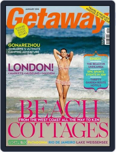 Getaway (Digital) December 12th, 2013 Issue Cover