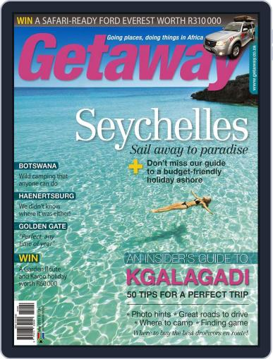 Getaway (Digital) April 18th, 2013 Issue Cover