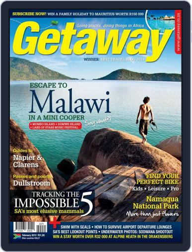 Getaway (Digital) January 19th, 2012 Issue Cover