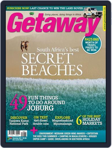 Getaway (Digital) December 1st, 2011 Issue Cover