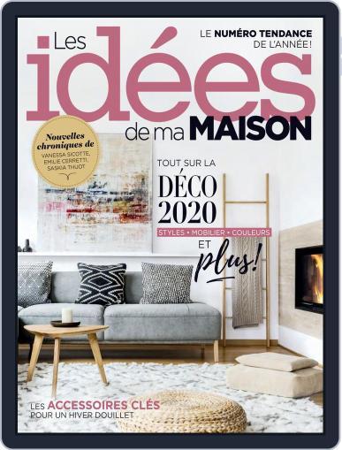 Les Idées De Ma Maison (Digital) January 1st, 2020 Issue Cover