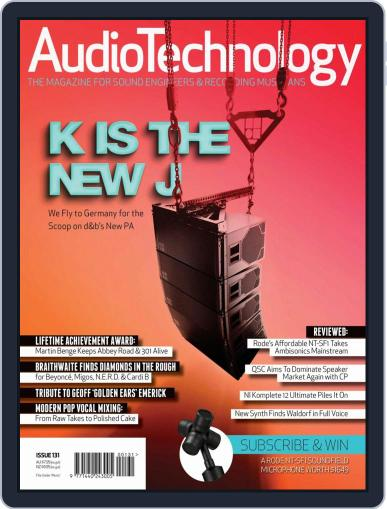 AudioTechnology (Digital) December 1st, 2018 Issue Cover