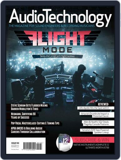 AudioTechnology (Digital) October 1st, 2018 Issue Cover