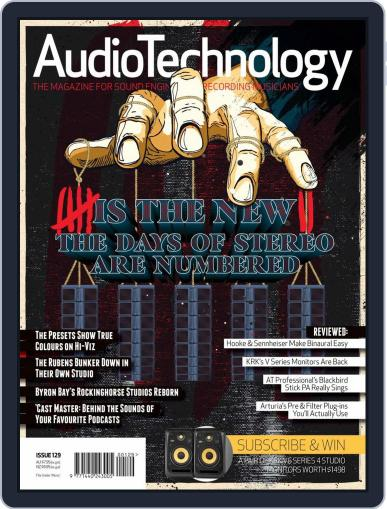 AudioTechnology (Digital) August 1st, 2018 Issue Cover