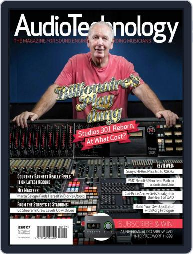 AudioTechnology (Digital) April 1st, 2018 Issue Cover
