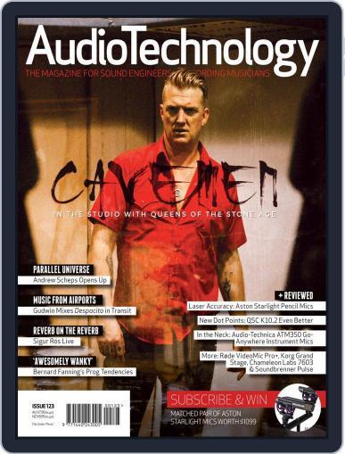 AudioTechnology (Digital) September 1st, 2017 Issue Cover