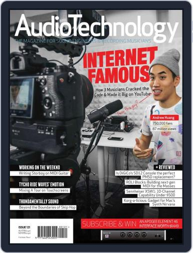 AudioTechnology (Digital) May 1st, 2017 Issue Cover