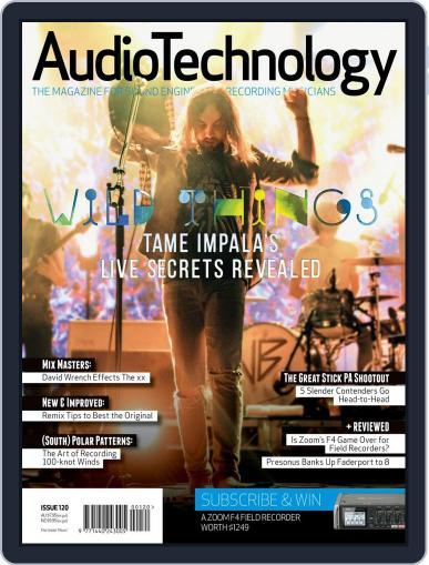 AudioTechnology (Digital) April 1st, 2017 Issue Cover