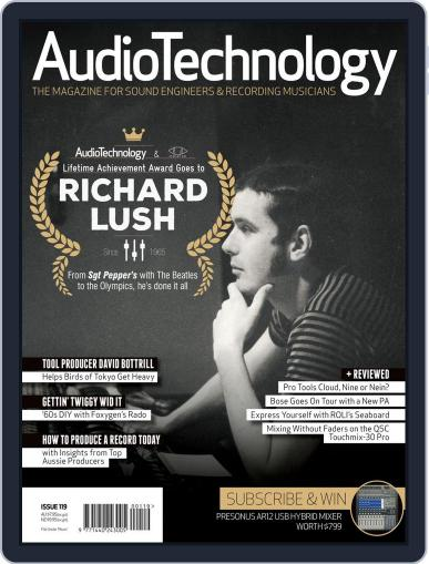 AudioTechnology (Digital) February 1st, 2017 Issue Cover