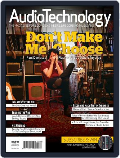 AudioTechnology (Digital) December 1st, 2016 Issue Cover