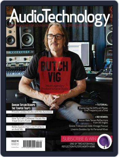 AudioTechnology (Digital) July 1st, 2016 Issue Cover