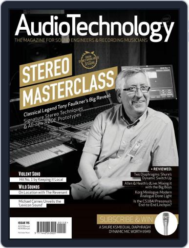 AudioTechnology (Digital) March 22nd, 2016 Issue Cover