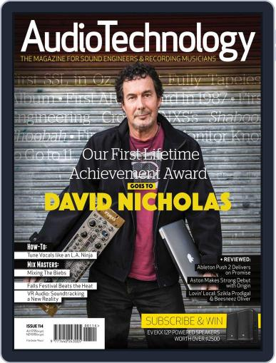 AudioTechnology (Digital) March 8th, 2016 Issue Cover